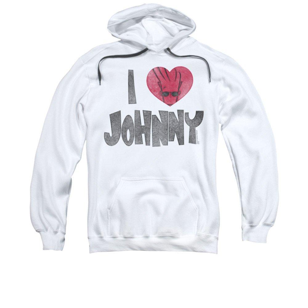2Bhip Johnny bravo cartoon network fernsehserie i herz johnny hoodie für Herren