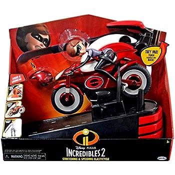 Disney / Pixar The Incredibles 2 Stretching & Speeding Elasticycle Vehicle