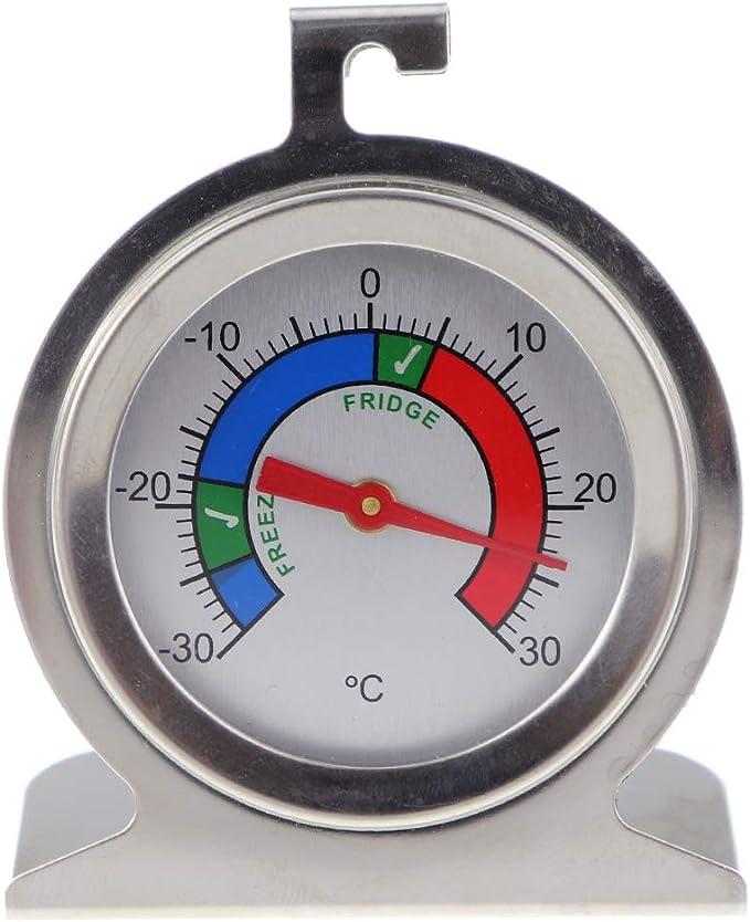 Termómetro para congelador o nevera hecho de acero inoxidable con ...
