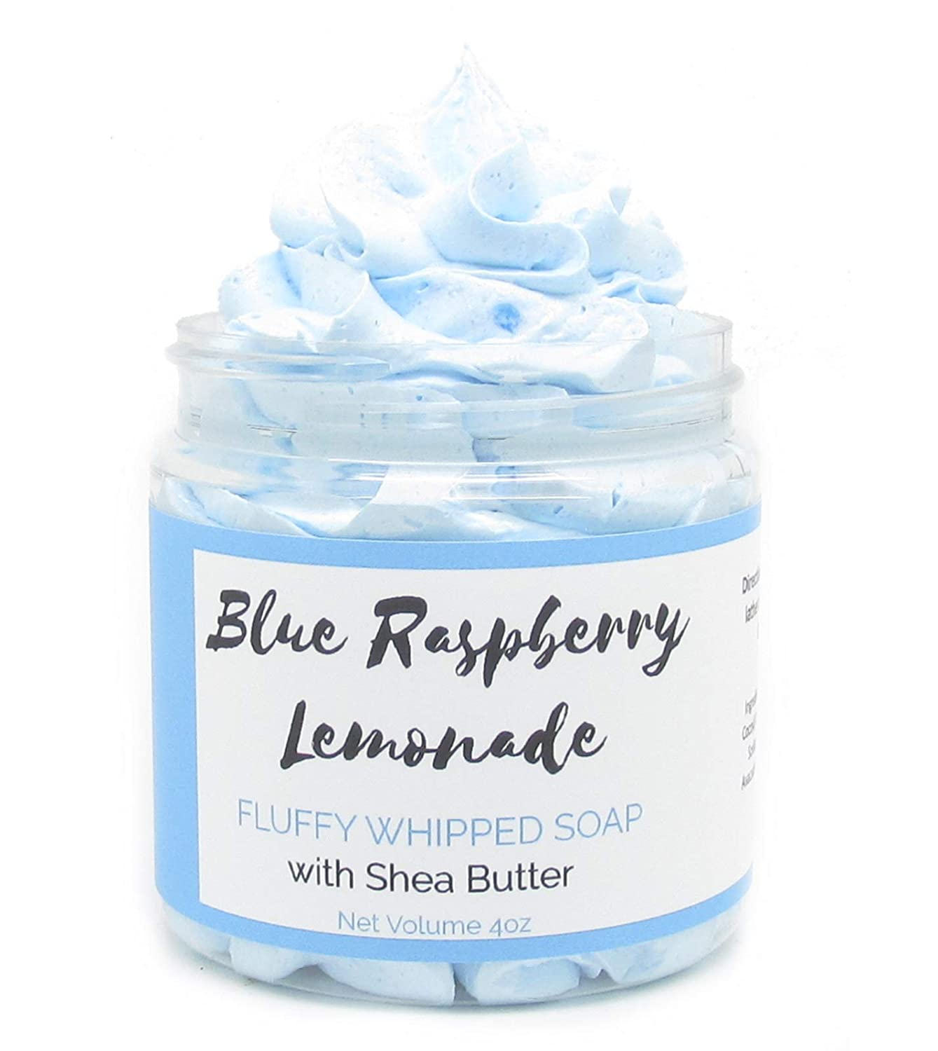 B075VBP6V5 Blue Raspberry Lemonade Whipped Soap | Homemade Soap | Shave Soap | Body Wash | 61Z2rc86t4L