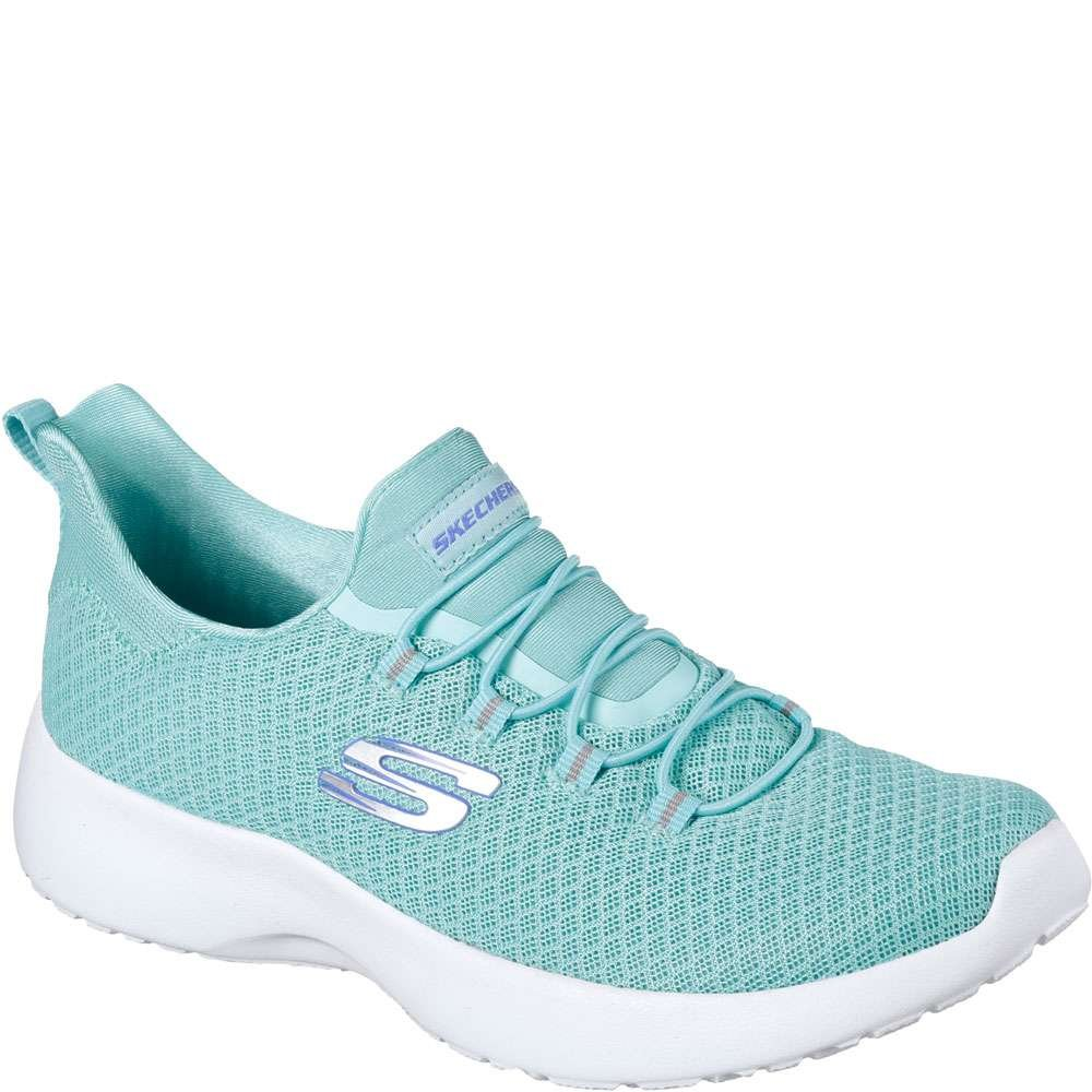 Skechers 12991/GYLP Dynamight-Break-Through Damen Sneaker Slipper Grau/Rosa  35.5 B(M) EU|T眉rkis