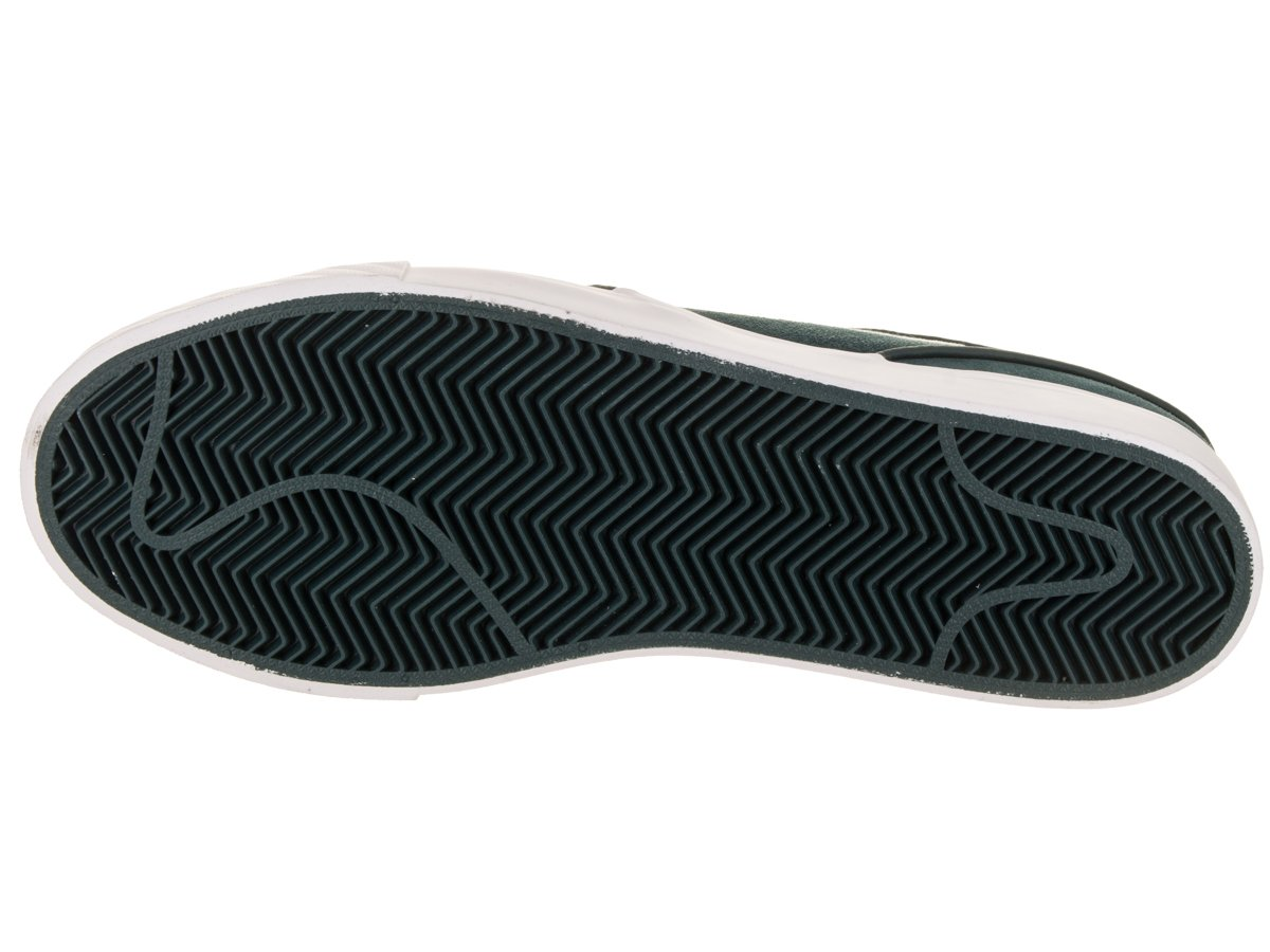 NIKE Men's Zoom Stefan Janoski Skate Shoe B07BPN91SJ 7.5 D(M) US|Deep Jungle/White Clay Green