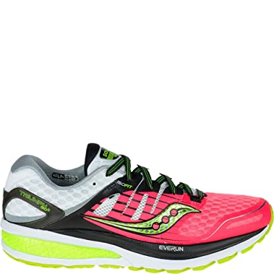327b278a7be8 Saucony Triumph Iso 2, Chaussures de Running Compétition Femme, Rose  (Coral/Silver