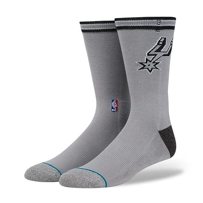 Stance Unisex Spurs Arena Logo Grey Socks MD