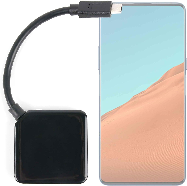 DURAGADGET Ladrón USB con Doble Puerto de Entrada USB y Salida USB C para Smartphone ZTE Nubia X: Amazon.es: Electrónica