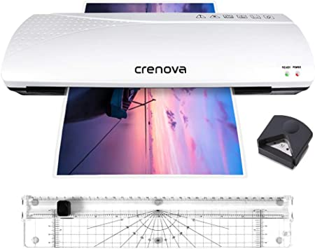 Crenova 13 Inches Laminator A3 With 20 Laminating Pouches Paper Trimmer Corner Rounder Amazon Ca Office Products