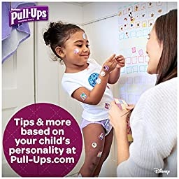 Pull-Ups Night-Time Training Pants for Girls, 3T-4T, 44 Count (Pack of 2)