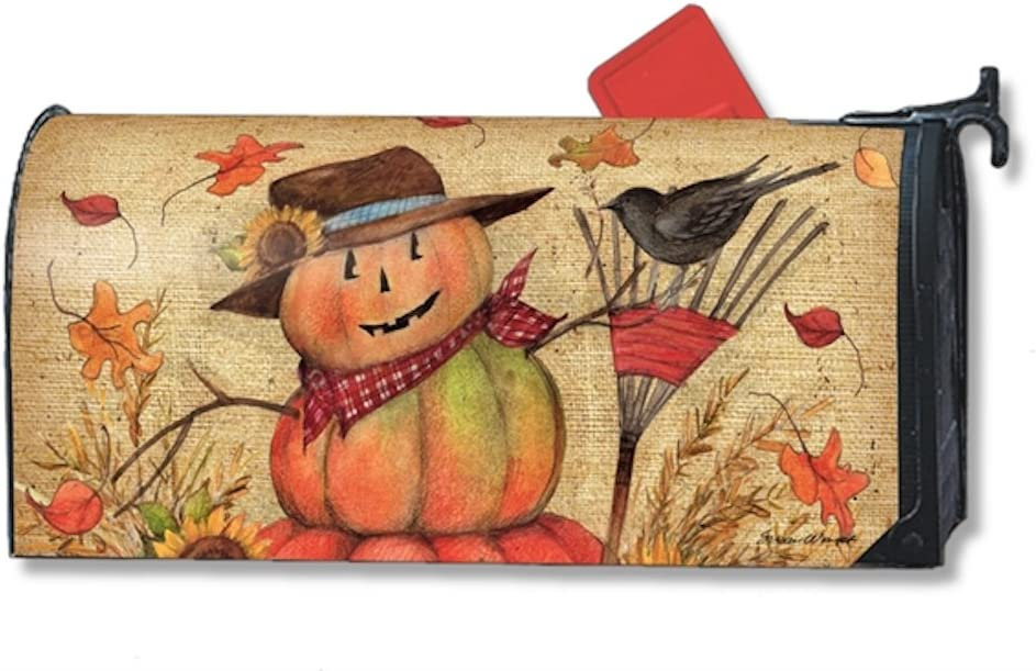 MailWraps Fall Friends Mailbox Cover #01225 Magnetworks
