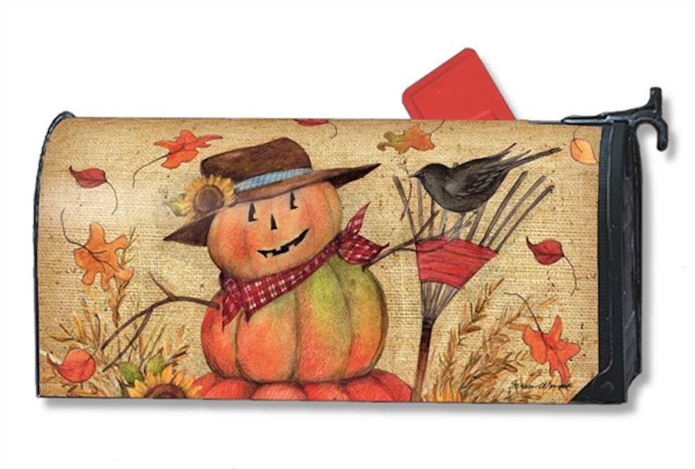 MailWraps Fall Friends Mailbox Cover #01225