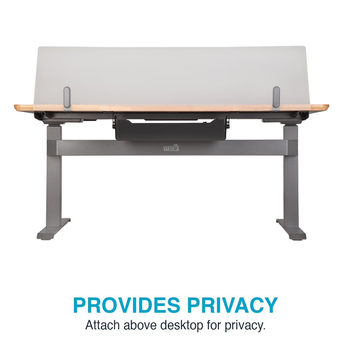 VARIDESK - ProDesk Electric Privacy and Modesty Panel 60 - Office Partition by VARIDESK (Image #6)