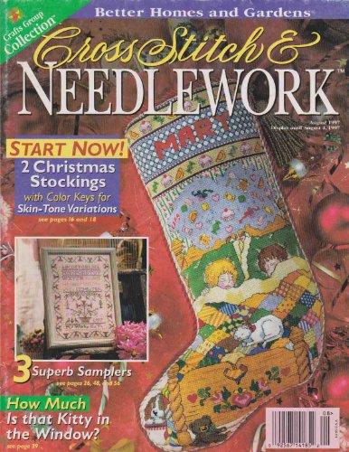 Better Homes & Gardens Cross Stitch & Needlework Magazine (August 1997) Cross Stitch Christmas Magazine