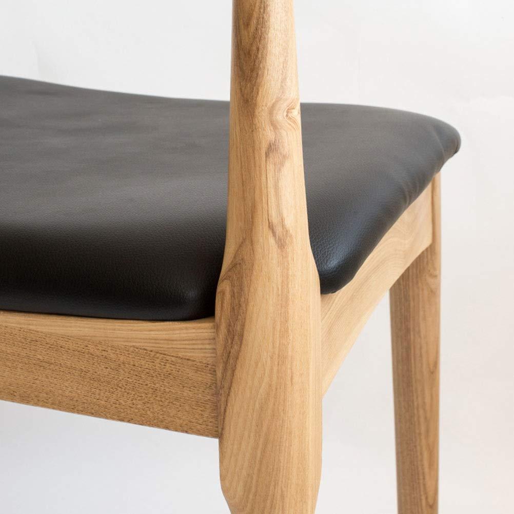 Amazon.com: WYQSZ - Silla de comedor de madera maciza con ...