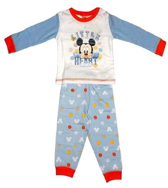 Disney - Pijamas enteros - para bebé niña Mickey Mouse breakerHeart 86