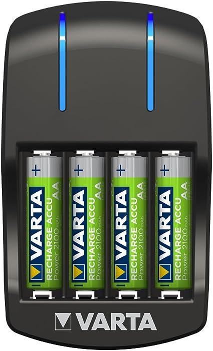 Caricabatterie Varta Universal – indicatore di ricarica LED