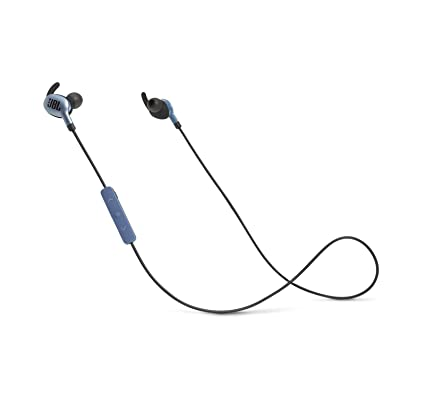 7a9939fbf2a Amazon.com: JBL Everest 110 In-Ear Wireless Bluetooth Headphones (Blue):  Home Audio & Theater