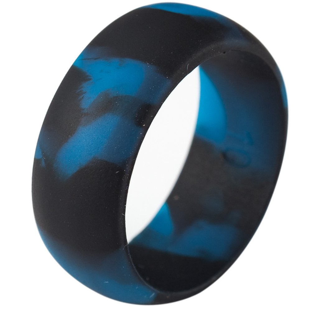 Jude Jewelers 5 Pack Size 5-15 Rubber Silicone Rings Flexible Corssift Outdoor Wedding Engagement