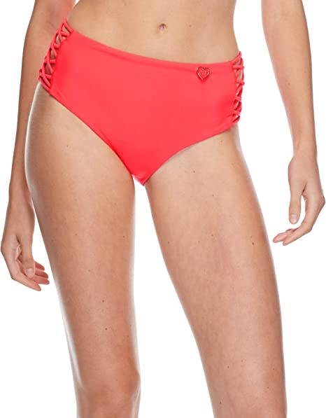 ce7402b3551 Body Glove Women's Retro High Rise Bikini Bottom Swimsuit: Amazon.ca ...