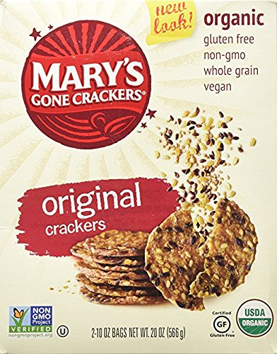 Organic Marys Gone Crackers, 10 oz bag - 4 ct