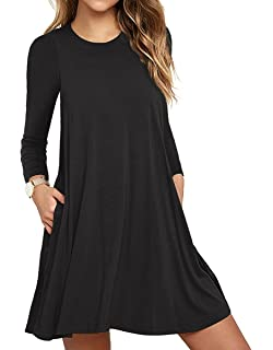 Casual Long Sleeve Dresses for Women