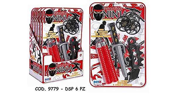 Armas ninja 6pz 9779: Amazon.es: Bebé