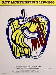 Apple Poster, (The Saint Louis Art) by Roy Lichtenstein