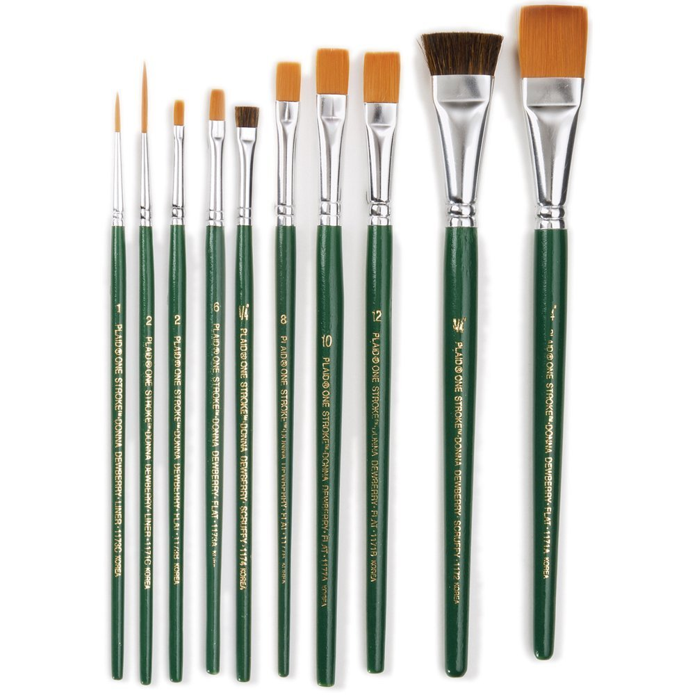 One Stroke. Brush Set, 1059 (10-Pack) (Limited Edition)