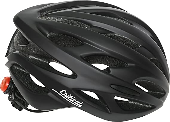 Review Critical Cycles Silas Bike Helmet with LED Safety Light Adjustable Dial and 24 vents
