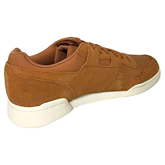 Reebok Workout Plus Mu Mens Rust Suede /& Synthetic Classic Trainers