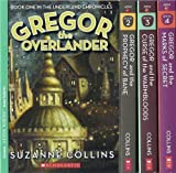 download ebook the underland chronicles set, books 1-4: gregor the overlander, gregor and the prophecy of bane, gregor and the curse of the warmbloods, and gregor and the marks of secret pdf epub