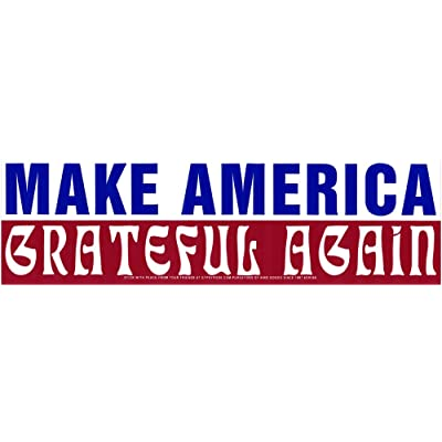 "Gypsy Rose Make America Grateful Again - Bumper Sticker/Decal (10.5"" X 3""): Automotive"