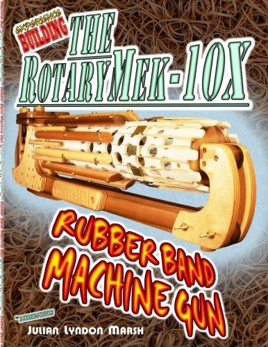 Experience Building the RotaryMek-10X Rubber Band Machine Gun