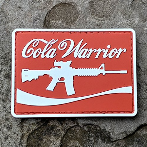 Cola Warrior PVC Rubber Morale Patch – Hook Backed by NEO Tactical (North West Halloween Unicorn)