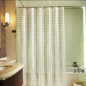 Awesome This Item 3D Shower Curtain, VOLADOR 72 X 72 Inch Waterproof Bathroom Curtain  Heavy Duty Shower Curtain Liner With Hooks, Mildew Resistant, ...