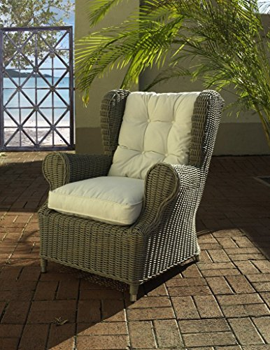 Padmas Plantation OL-WNG01-ECO Outdoor Kubu Wing Chair
