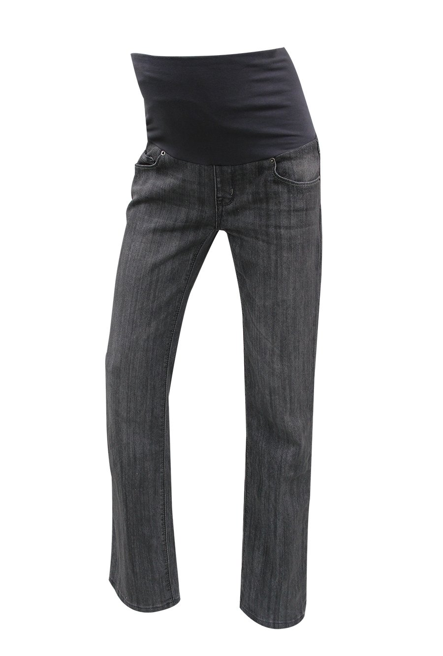 9months Women's Full Panel Maternity Relaxed Fit Jeans