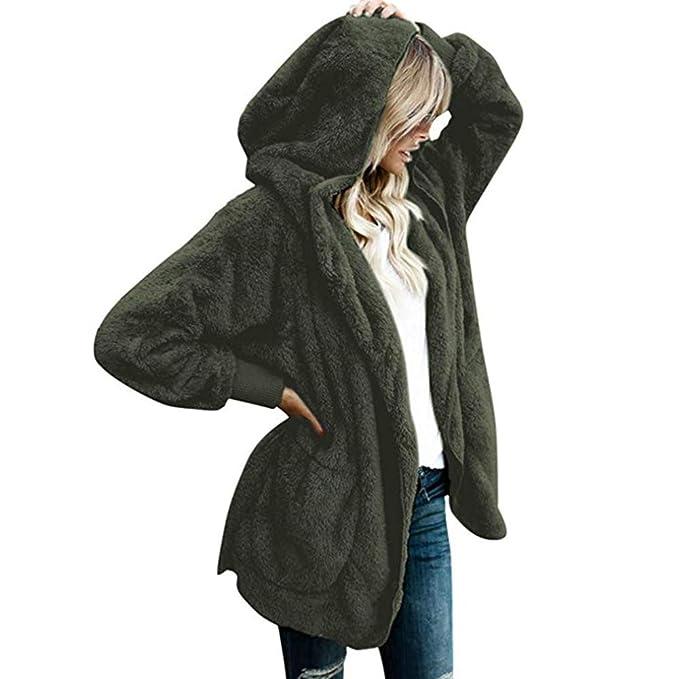 Amazon.com: Caissip - Chaqueta de invierno para mujer, con ...