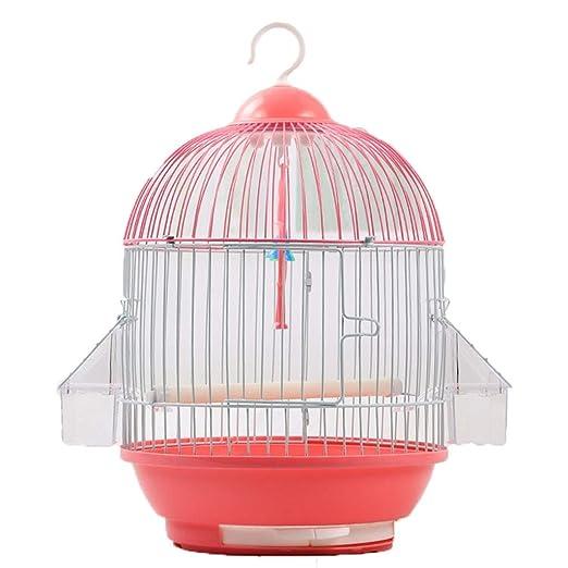 YC electronics Jaulas para pájaros Jaula de pájaros Redonda ...