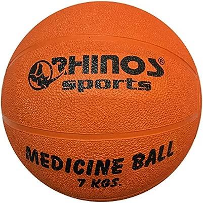 Rhinos Sports - Balón medicinal, pelota 7 kg, Color Naranja ...