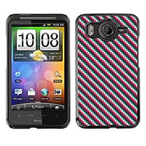 ZECASE Funda Carcasa Tapa Case Cover Para HTC Desire HD G10 No.0000008