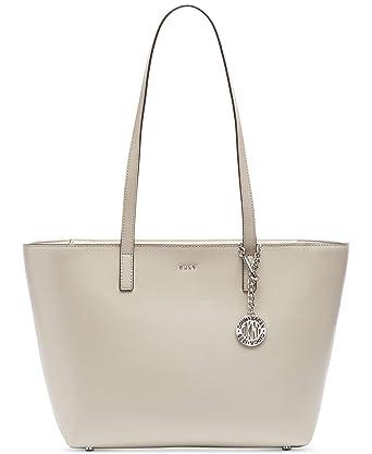c50c514b3 Amazon.com: DKNY Sutton Leather Bryant Medium Tote (grau_hellgrau, grau):  Wholesale Fashions