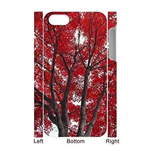 3D Bumper Plastic Case Of Maple customized case For Iphone 4/4s hjbrhga1544