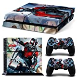 GOOOD PS4 Designer Skin Decal for PlayStation 4 Console System and PS4 Wireless Dualshock Controller - ANT Man