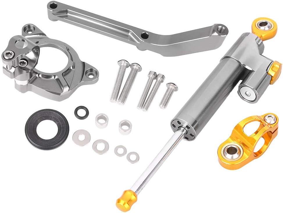 Steering Damper Stabilizer with Mounting Bracket Kit for KAWASAKI Z1000 2014 2015 2016 Newsmarts Aluminum Steering Damper Stabilizer Buffer Control Bar