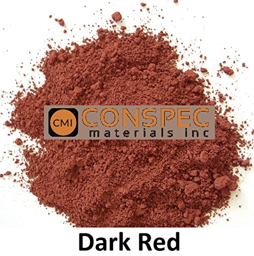 Conspec 1 Lbs. DARK RED Powdered Color for Concrete, Cement, Mortar, Grout, Plaster