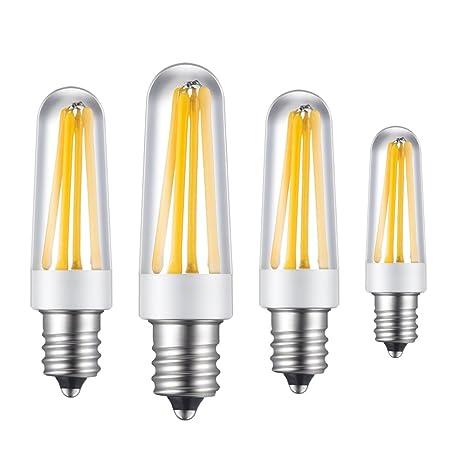 4 bombillas LED de la marca Rayhoo, base E14, 4W, chips