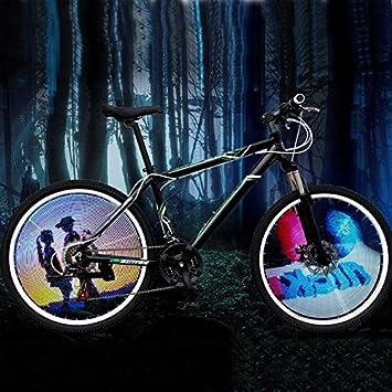Bazaar 144 RGB LED Fahrrad Rad Licht Fahrrad Speiche Licht Fahrrad ...