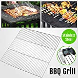 Topeakmart Charcoal BBQ/Barbecue Grill Grates/Grid Replacement Stainless Steel Rack Wire Net