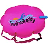 Swim Buddy Racer II Pink Personal Swim Float for Open Water Swimming