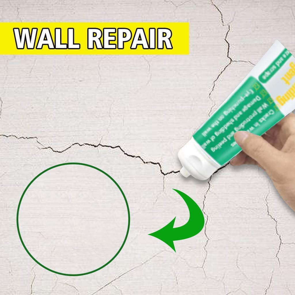 Drywall Repair Putty A Quick /& Easy Solution to Fill The Holes in Your Walls-Also Works on Wood /& Plaster 1