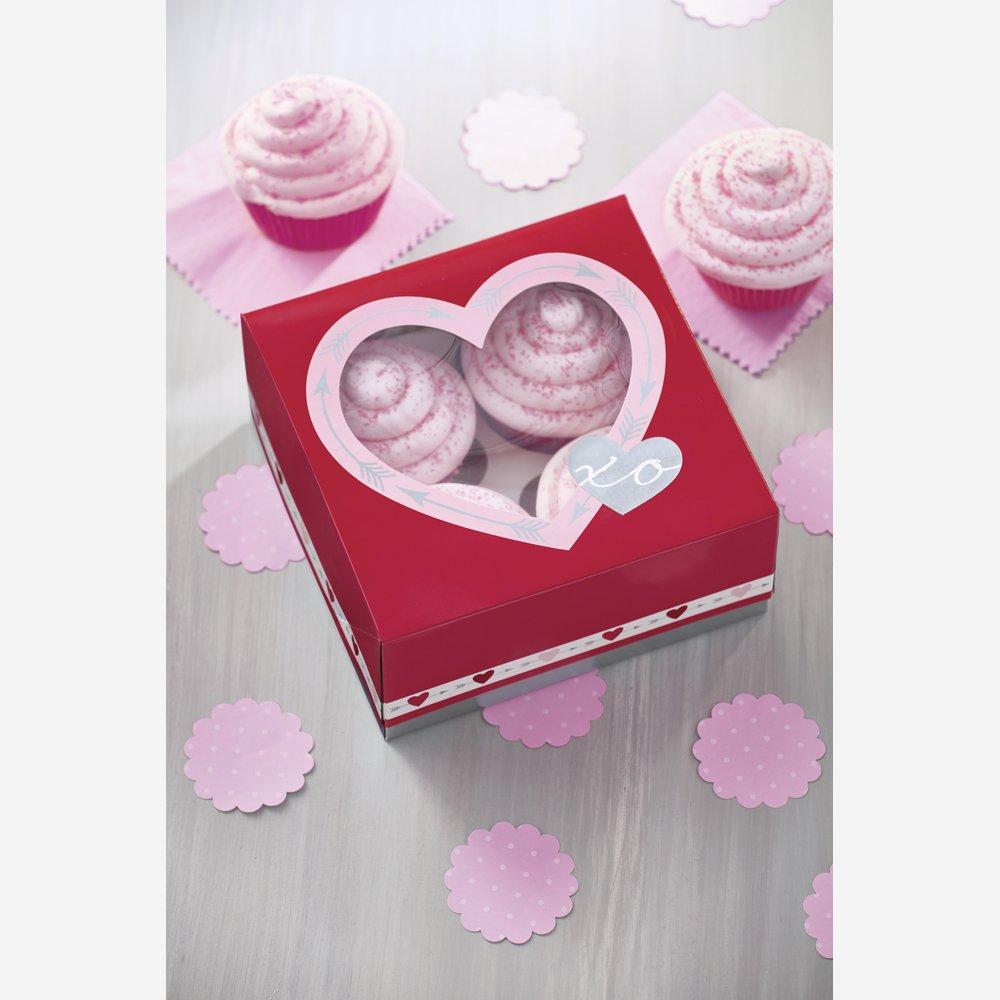 Amazon.com: Wilton 415-5514 Heartfelt Cupcake Holder Box: Kitchen & Dining
